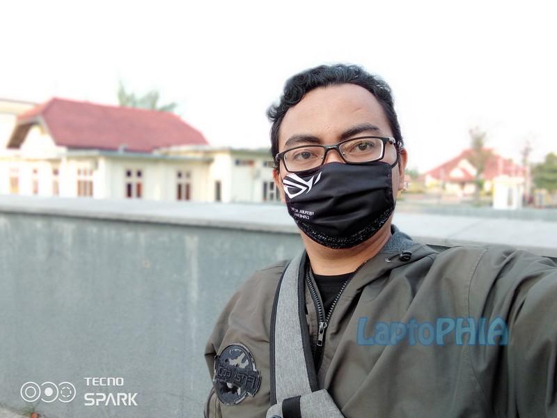 Hasil Foto Kamera Depan Tecno Spark 7 Pro
