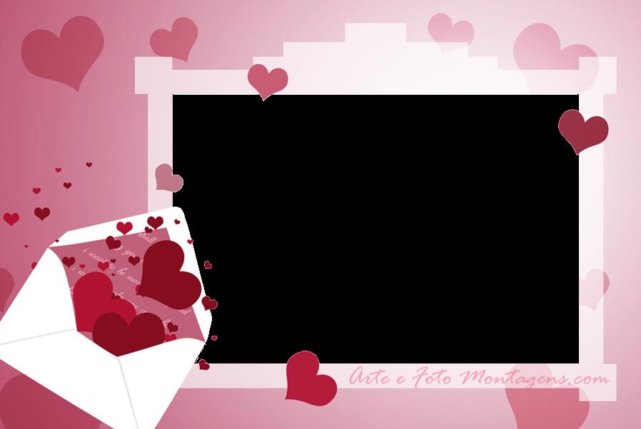 Molduras PNG - Amor - envelope-coracoes