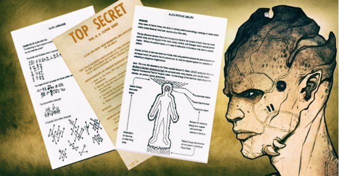 O Projeto Pulsar Um documento vazado com as Escrituras Extraterrestre 000