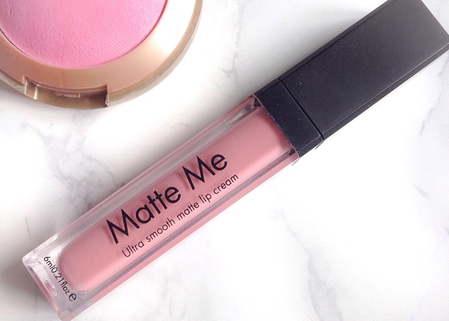 Sleek Matte Me Lip Cream in Petal