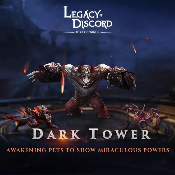 Legacy of Discord Dark Tower Güncellemesi