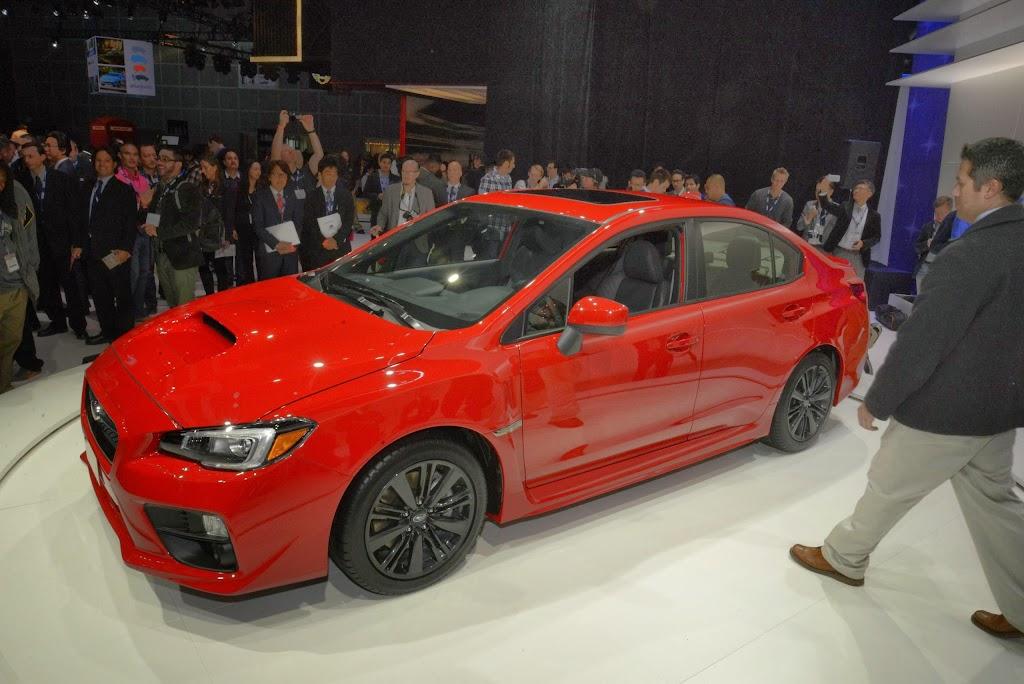 2015 Subaru WRX Los Angeles Auto Show 2