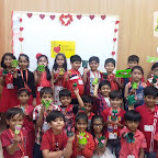 Valentine's Day Celebrated by Grade1 at Witty World, Chikoowadi (2017-18)