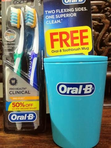Oral-B toothbrush holder
