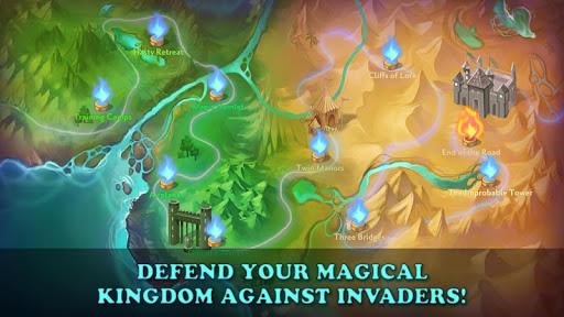 World of Loa TD: Fairy Kingdom Tower Defense  captures d'u00e9cran 2