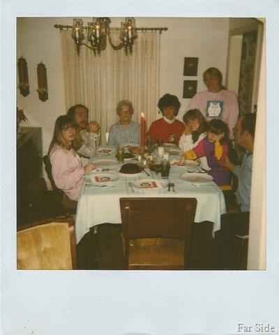 Christmas Dinner 1988