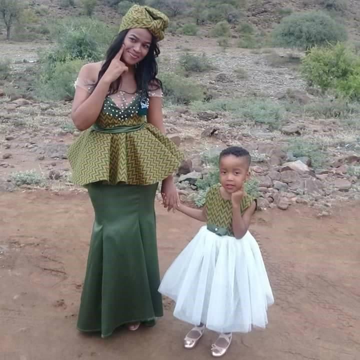 AFRICAN SHWESHWE TRADITIONAL DRESSES 2018