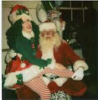 Santa with his Helper