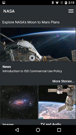NASA App screenshot 1
