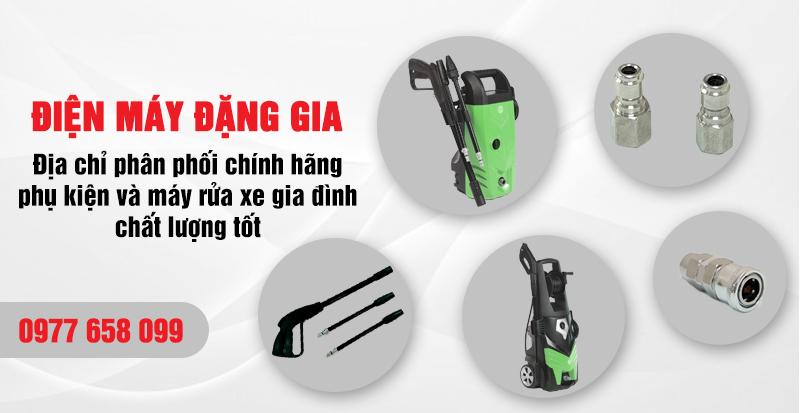 Điện máy Đặng Gia phân phối máy rửa xe mini chất lượng