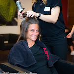 STUTTGART, GERMANY - APRIL 18 : Roberta Vinci at the 2016 Porsche Tennis Grand Prix makeup & style lounge
