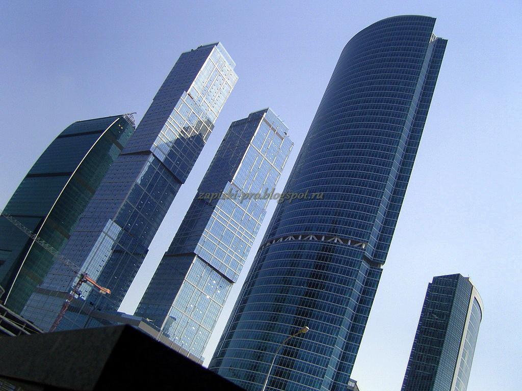 Москва-Сити фото Башня на набережной