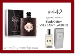 Парфюм FM 442 PURE - YVES SAINT LAURENT - Black Opium
