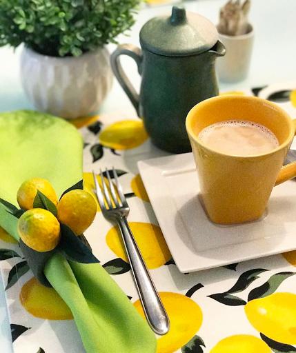 Mesa Posta lardocecasa limão siciliano