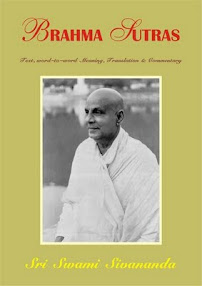 Cover of Sri Swami Sivananda's Book Brahma Sutras