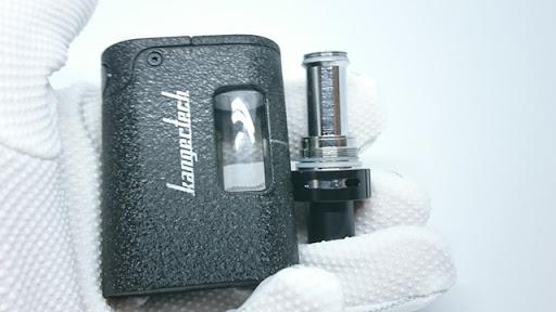 DSC 4392 thumb%255B7%255D - 【MOD】Kangertech「TOGO Mini」(カンガーテック・トーゴーミニ)スターターキットレビュー。オールインワンタイプBOXMOD。【ベプログ/VAPE/電子タバコ】