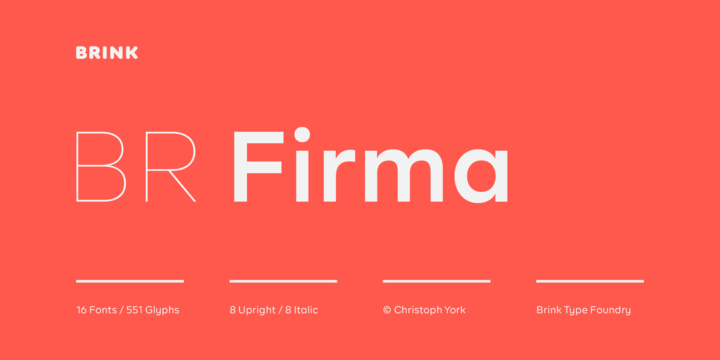 Download BR Firma Font Family From Brink