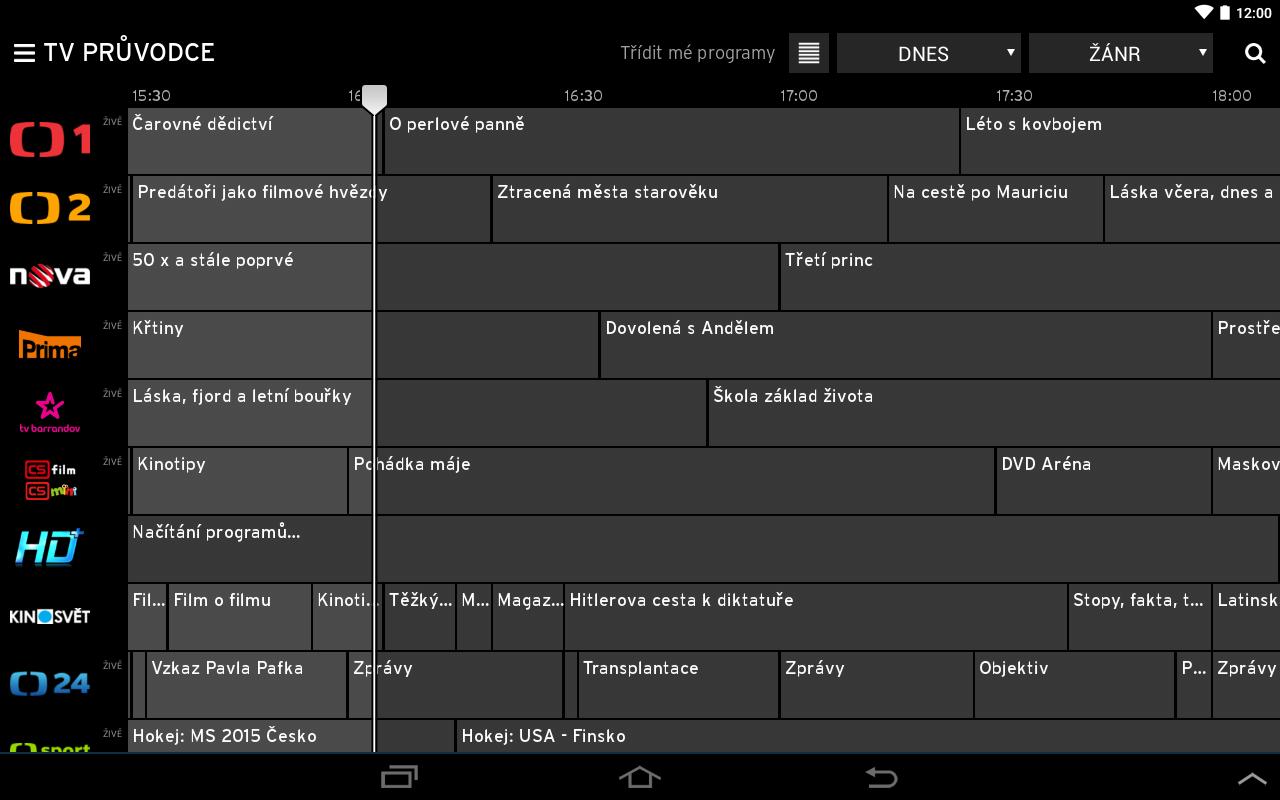 Horizon Go CZ – Aplikace pro Android ve službě Google Play Horizon Go Upc Sk Sledovat