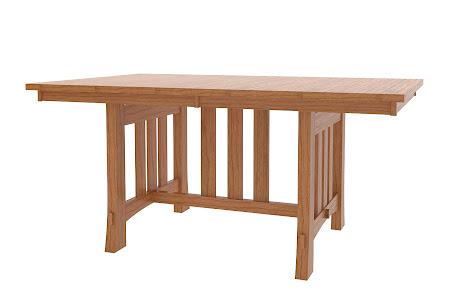 "70"" x 42"" Seville Table in Lexington Oak"