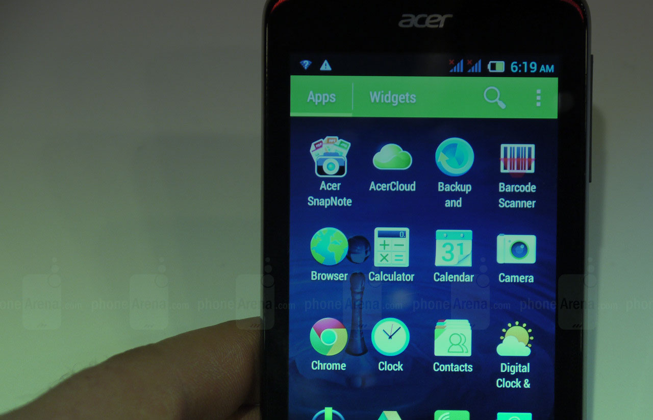 acer z4 custom rom iphone