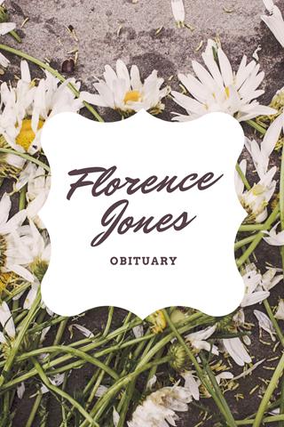 FlorenceJonesobit