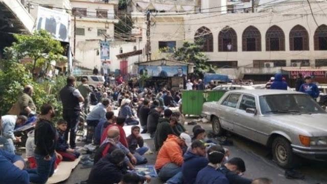Lockdown di Lebanon Kacau Balau, Warga Turun ke Jalan