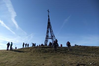 Cruz del Gorbea (1.481 m.)