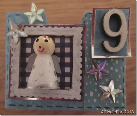 Christmas Angel Advent Drawer