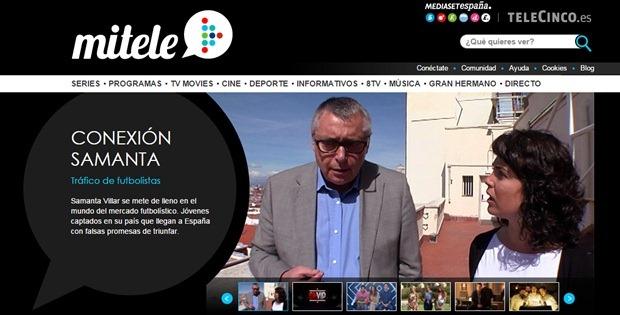 Abrir mi cuenta MiTele para comprar programas de Tv online