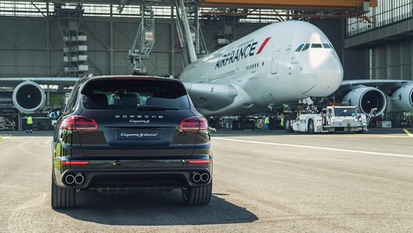 Porsche Cayenne-new record