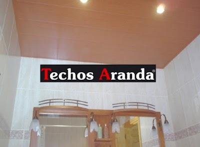 Imagenes de techo de aluminio para baño Madrid