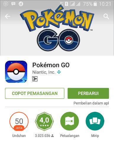 Resmi! Game Pokemon Go Release Di Indonesia dan Beberapa Negara Lain di Asia serta Oceania