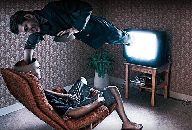 controle da mente atraves da televisão