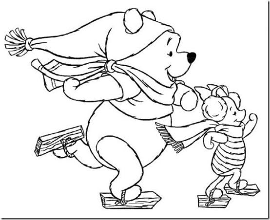 colorear-winnie-en-invierno-dibujos-infantiles