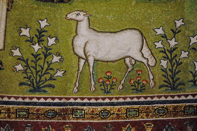 My Photos: Italy -- Mosaics -- Ravenna -- Basilica di San Apollinare en Classe