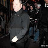 WWW.ENTSIMAGES.COM -  Harvey Weinstein  arriving at    The Charles Finch & Chanel Pre-BAFTA Dinner at Annabel's in Berkeley Square London February 9th 2013                                                      Photo Mobis Photos/OIC 0203 174 1069