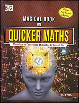 Magical Books On Quicker Maths pdf free download