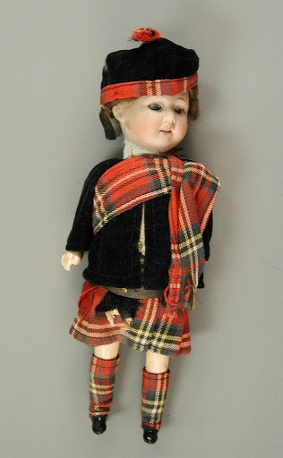 Doll:Boy in Scottish Kilt