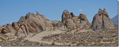Views of Alabama Hills