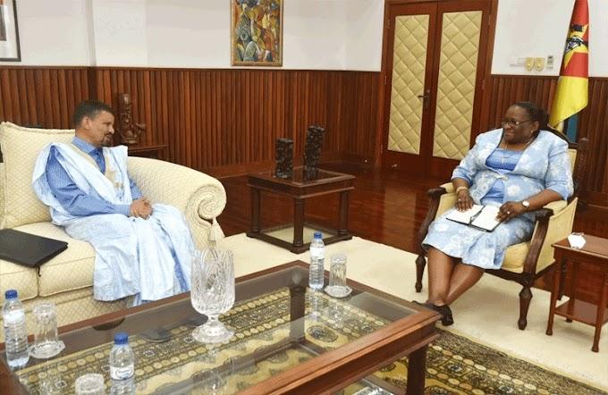 Mozambique recibe un enviado especial del presidente saharaui.