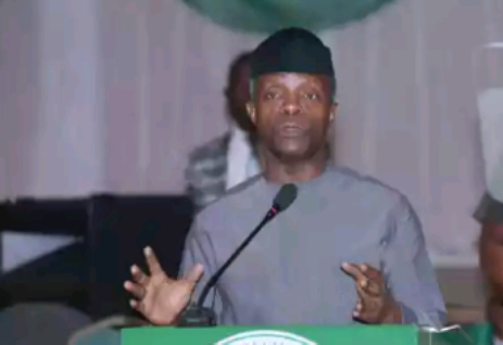 """""""Pay Your Tax Or Face Criminal Prosecution, Up To 5-Year Jail Term"""" - Osinbajo"""