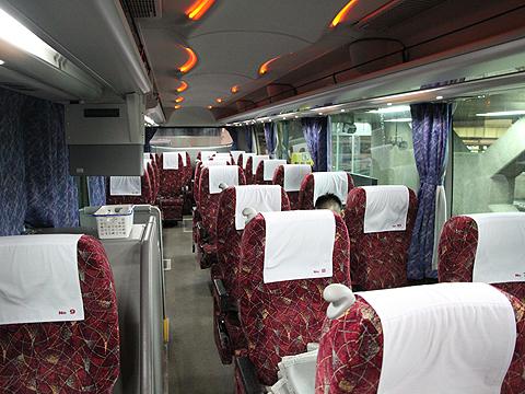 北海道中央バス「高速はこだて号」 2537 車内