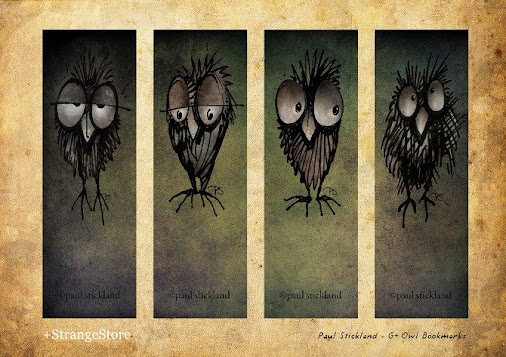 Free G+ Owl Bookmarks to Download and Share! Some G+Owls to nestle in your favourite books! Just click...