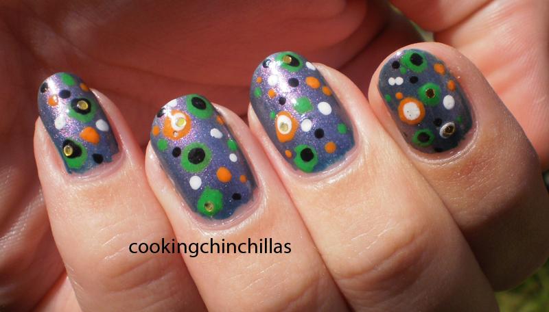 Cute and Easy Nail Design Polka Dot