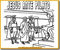 semanadibujos-de-semana-santa-jesus-ante-pilato-para-colorear