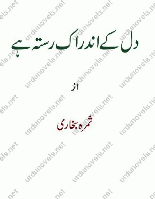 Dil Kay Ander Ik Rasta Hai is a very well written complex script novel by Samra Bukhari which depicts normal emotions and behaviour of human like love hate greed power and fear , Samra Bukhari is a very famous and popular specialy among female readers