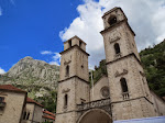 The Kotor Cathedral - with uneven towers