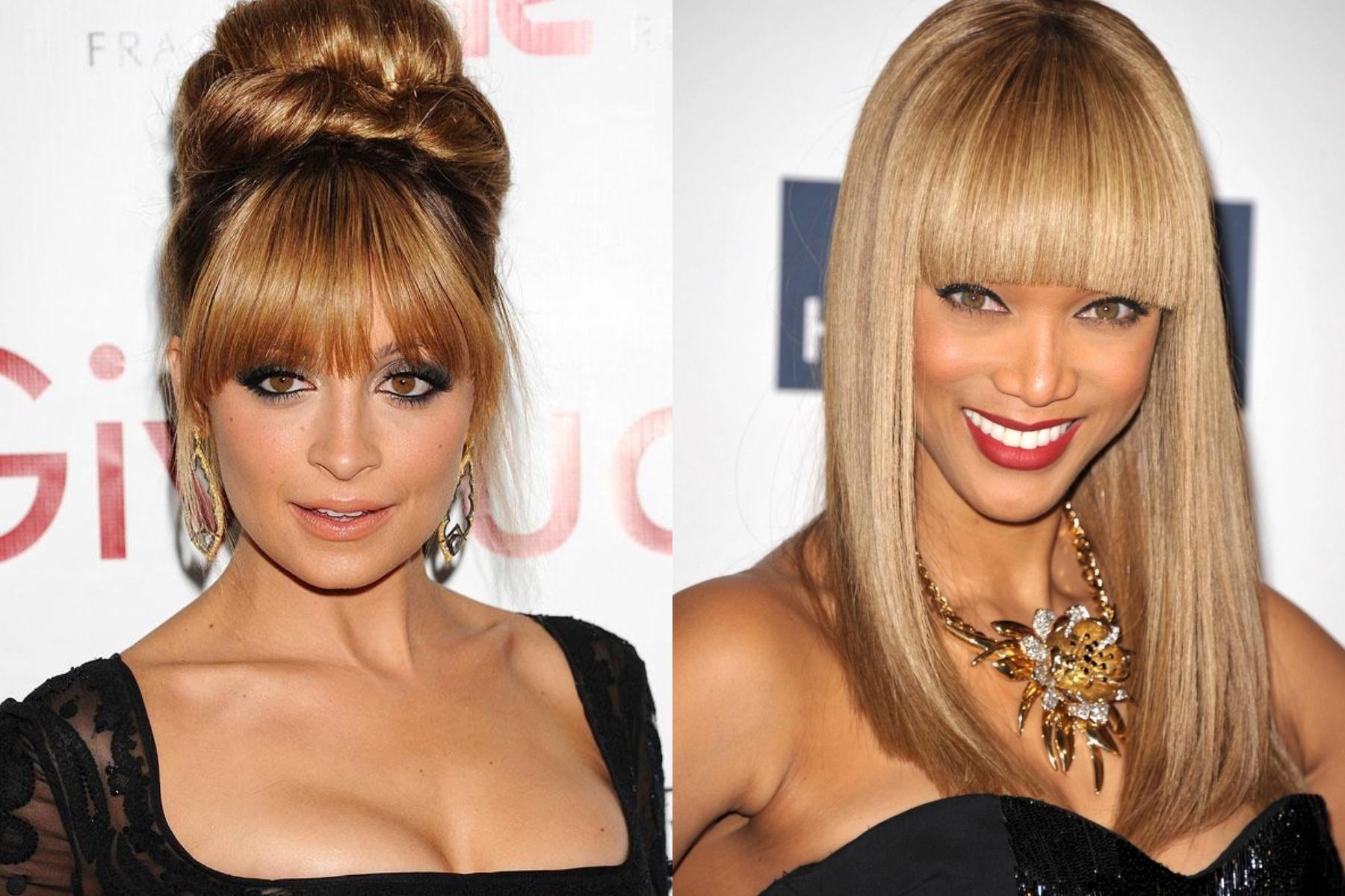 2018 Long Bangs Hairstyles For Women's - Haircuts Bangs 2