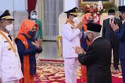 Presiden Joko Widodo Lantik Gubernur dan Wakil Gubernur Sulawesi Tengah