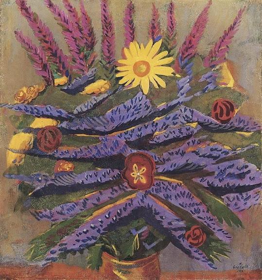 Martiros Saryan - Flowers, 1916